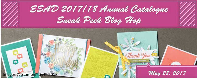 ESAD 2017 / 18 Annual Catalogue Sneak Peak Blog Hop