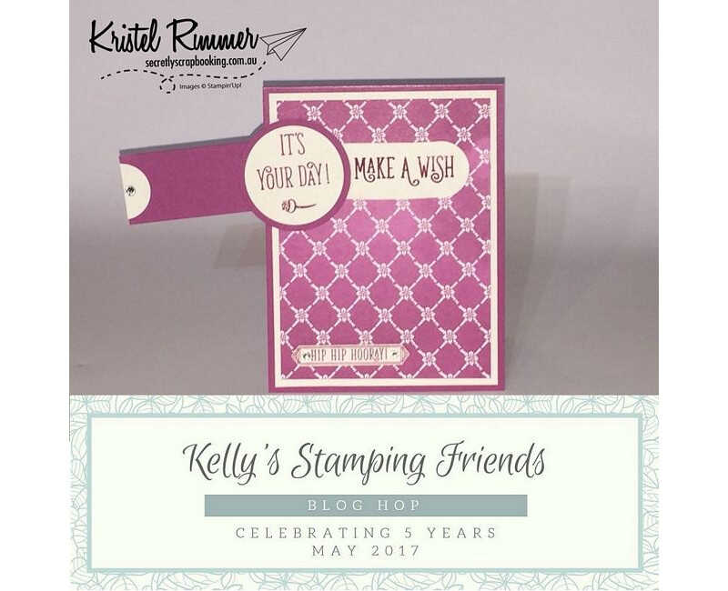 Kelly's Stamping Friends Blog Hop