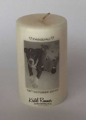 Pet Memory Gift Candle - Dog