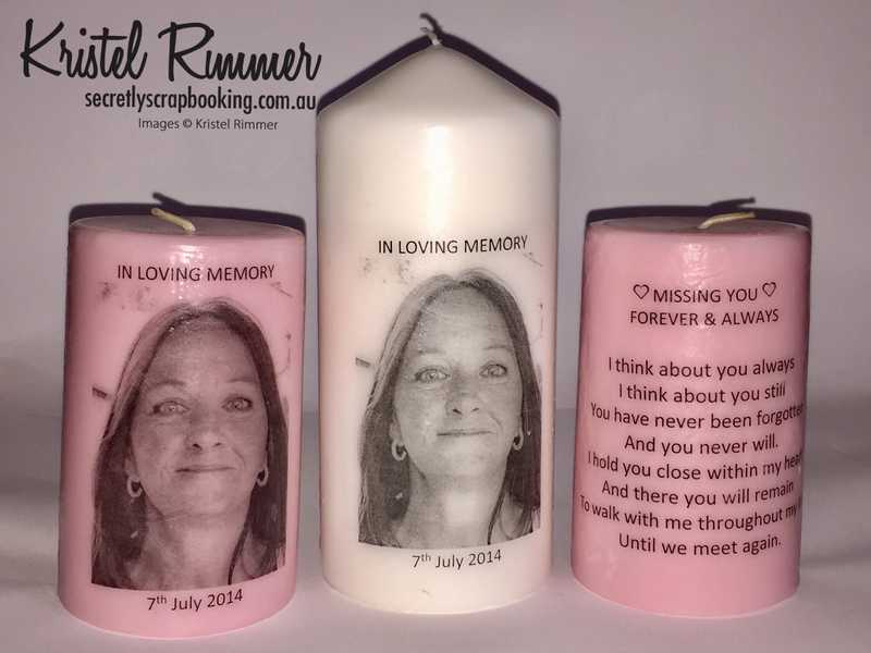 Set of Three Remembrance Candles