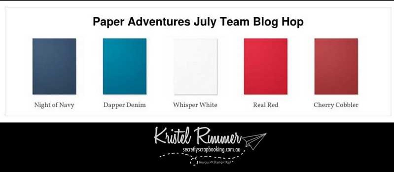 Paper Adventures Team Blog Hop Colour Combination