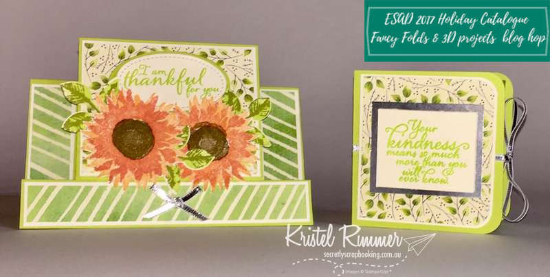 ESAD 2017 Holiday Catalogue Fancy Folds And 3D Projects Blog Hop