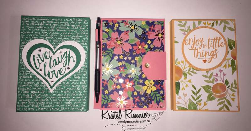 Various Large Notebooks (Stampin' Up!) - Secretly Scrapbooking (Bunbury, WA)