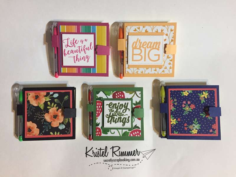Various Post-It Notepads (Stampin' Up!) - Secretly Scrapbooking (Bunbury, WA)