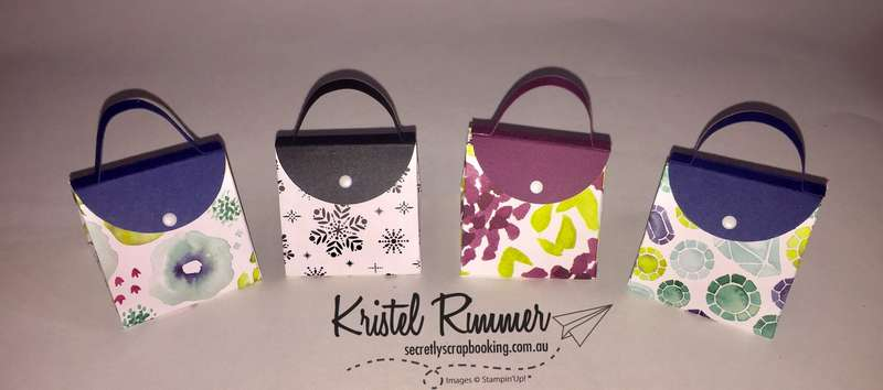 Explosion Purses (Stampin' Up!) - Secretly Scrapbooking (Bunbury, WA)