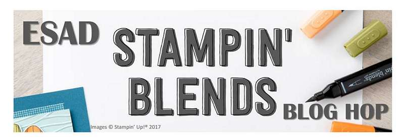 ESAD Stampin' Blends Blog Hop 2017