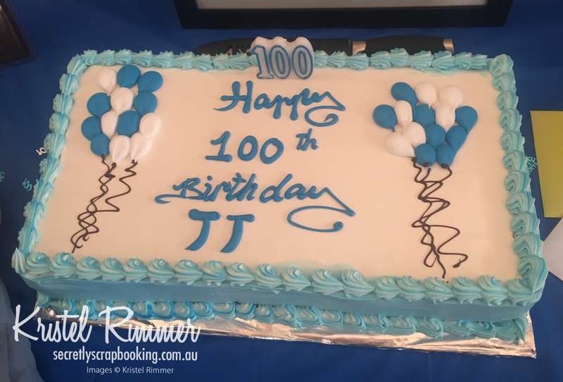 Happy 100th Birthday...Nailed It!