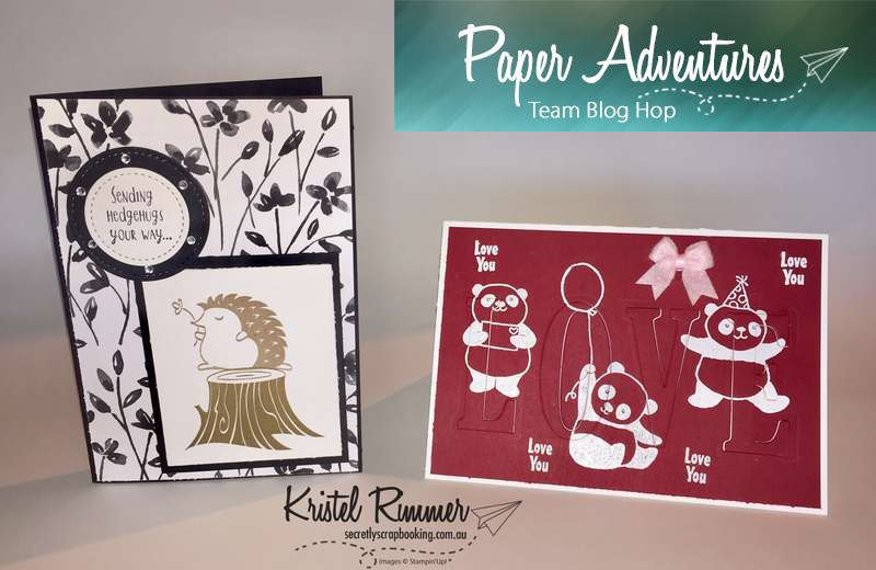 Paper Adventures Team Blog Hop 2018 - Animals