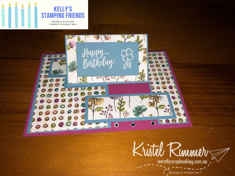 Kelly's Stamping Friends - Birthday Blog Hop 2018